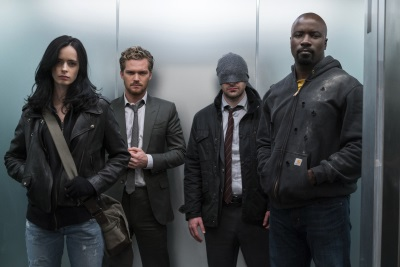 Die Defenders erstmals vereint (© Netflix)