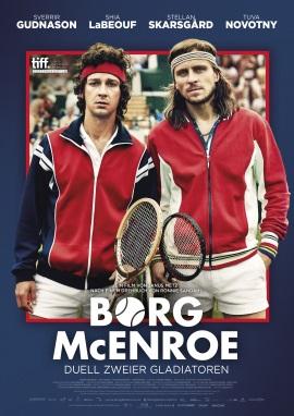 """Das Plakat von """"Borg McEnroe"""" (© Universum Film)"""