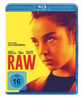 """Das Blu-ray-Cover von """"RAW"""" (© Universal Pictures Germany)"""