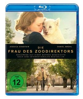 "Das Blu-ray-Cover von ""Die Frau des Zoodirektors"" (© Universal Pictures Germany)"