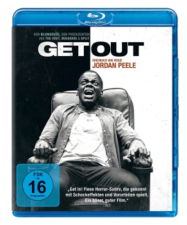 """Das Blu-ray-Cover von """"Get Out"""" (© Universal Pictures Home Entertainment)"""