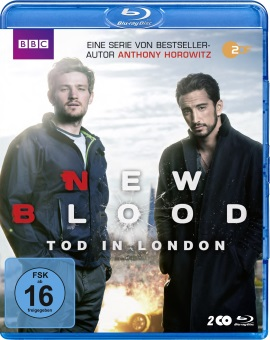 """Das Blu-ray-Cover von """"New Blood - Tod in London"""" (© Polyband)"""