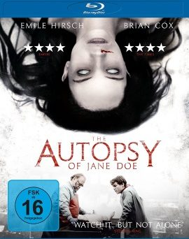 "Das Blu-ray-Cover von ""The Autopsy of Jane Doe"" (© Universum Film)"