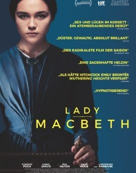 "Das Plakat von ""Lady Macbeth"" (© Koch Media)"