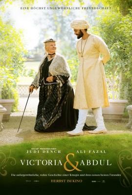 """Das Plakat von """"Victoria und Abdul"""" (© 2017 Universal Pictures Germany)"""