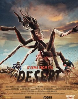 "Das originale Plakat von ""It Came From The Desert"" (© Tiberius Film)"