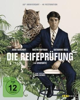 """Das Blu-ray-Cover der 50th Anniversary Edition von """"Die Reifeprüfung"""" (© StudioCanal)"""