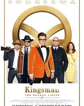 "Das Plakat von ""Kingsman 2: The Golden Circle"" (© 2017 20th Century Fox)"