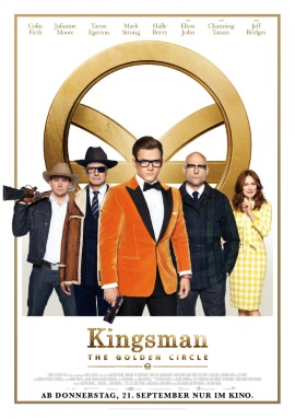 "Das Plakat von ""Kingsman 2: The Golden Circle"" (© 2017 20th Century Fox)"