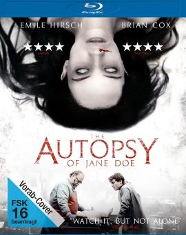 "Das Vorab-Cover von ""The Autopsy of Jane Doe"" (© Universum Film)"