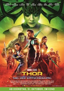 """Das Kinoplakat von """"Thor - Tag der Entscheidung"""" (© Walt Disney Studios Motion Pictures Germany)"""