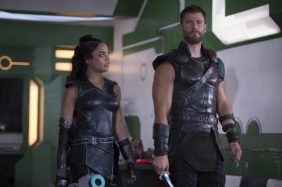 Ist Valkyrie jemand, auf den sich Thor verlassen kann? (© Marvel Studios 2017)