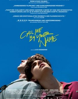 "Das Hauptplakat zu ""Call Me By Your Name"" (© Sony Pictures)"