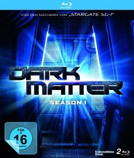 """Das Blu-ray-Cover der ersten Staffel von """"Dark Matter"""" (© justbridge entertainment)"""