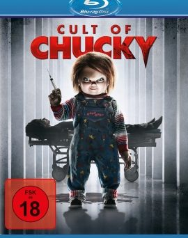 """Das Blu-ray-Cover von """"Cult of Chucky"""" (© Universal Pictures Germany)"""
