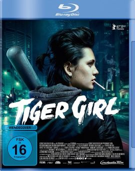 "Das Blu-ray-Cover von ""Tiger Girl"" (© Constantin Film)"