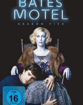 """Das DVD-Cover der fünften Staffel von """"Bates Motel"""" (© Universal Pictures Germany)"""