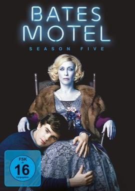 """Das DVD-Cover von """"Bates Motel Staffel 5"""" (© Universal Pictures Germany)"""
