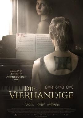 """Das Plakat von """"Die Vierhändige"""" (© Camino Film)"""