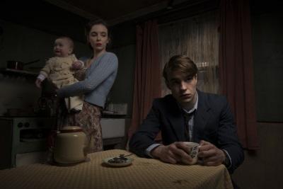 Noch ahnt die Familie Evans nichts von ihrer grausigen Zukunftl (© Polyband)