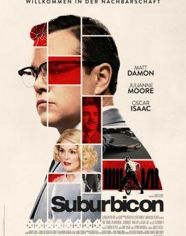 """Das Hauptplakat von """"Suburbicon"""" (© Concorde Filmverleih)"""