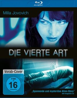 "Das Blu-ray-Cover von ""Die vierte Art"" (© Square One/Universum Film)"