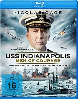 "Das Blu-ray-Cover von ""USS Indianapolis - Men of Courage"" (© KSM)"
