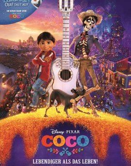 """Das Hauptplakat von """"Coco - Lebendiger als das Leben!"""" (© Disney/Pixar)"""