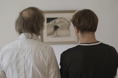 Rocky und Thorben bewundern echte Kunst (© Alamode Film)