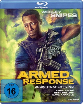 "Das Blu-ray-Cover von ""Armed Response"" (© Concorde Home Entertainment)"