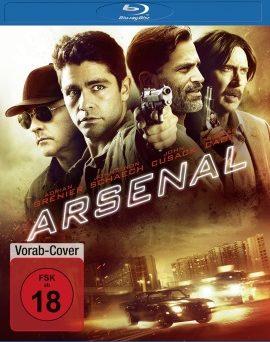 """Das Blu-ray-Cover von """"Arsenal"""" (© Universum Film)"""