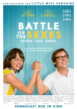 "Das Plakat zu ""Battle of the Sexes"" (© 20th Century Fox)"