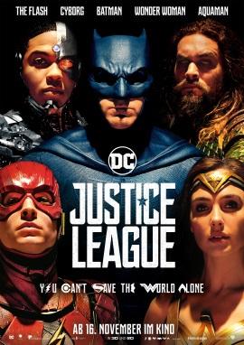 "Das Hauptplakat von ""Justice League"" (© Warner Bros Pictures)"