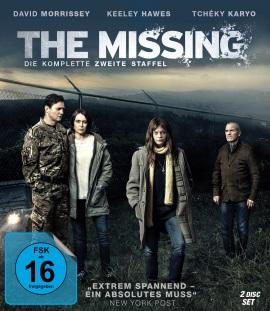 """Das Blu-ray-Cover der zweiten Staffel von """"The Missing"""" (© Pandastorm Pictures)"""