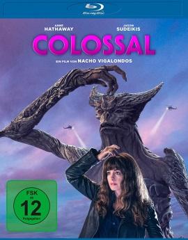 "Das Blu-ray-Cover von ""Colossal"" (© Universum Film)"