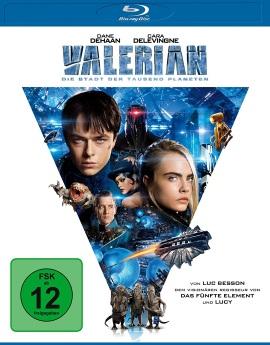 """Das Blu-ray-Cover von """"Valerian"""" (© Universum Film)"""