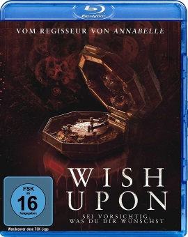 "Das Blu-ray-Cover von ""Wish Upon"" (© Splendid Film)"