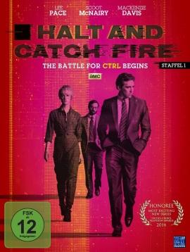 "Das DVD-Cover der ersten Staffel ""Halt And Catch Fire"" (© KSM)"