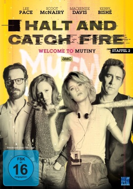 "Das DVD-Cover der zweiten Staffel ""Halt And Catch Fire"" (© KSM)"