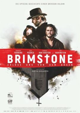"""Das Hauptplakat von """"Brimstone""""  (© Kinostar)"""