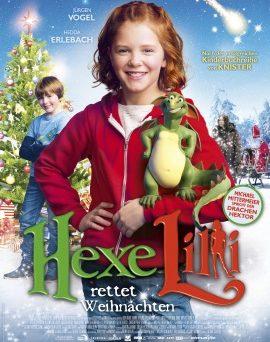 """Das Hauptplakat von """"Hexe Lilli rettet Weihnachten"""" (© Universum Film)"""