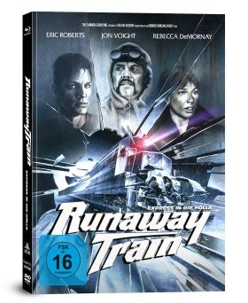"Die Covervariante B des Mediabooks von ""Runaway Train"" (© Capelight Pictures)"