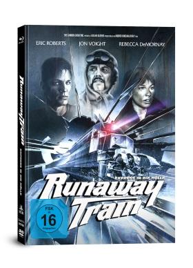 """Die Covervariante B des Mediabooks von """"Runaway Train"""" (© Capelight Pictures)"""