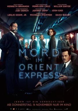 """Das Plakat von """"Mord im Orient Express"""" (© Fox Deutschland)"""
