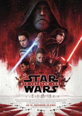 """Das Hauptplakat von """"Star Wars - Die letzten Jedi"""" (©Walt Disney Studios Motion Pictures Germany)"""