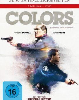 "Das Artwork des Mediabooks zu ""Colors - Farben der Gewalt"" (© Capelight Pictures)"
