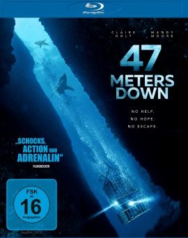 "Das Blu-ray-Cover von ""47 Meters Down"" (© Universum Film)"