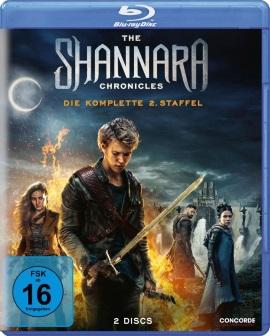 """Das Blu-ray-Cover der zweiten Staffel von """"The Shannara Chronicles"""" (© Concorde Home Entertainment)"""