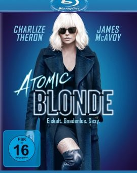 "Das Blu-ray-Cover von ""Atomic Blonde"" (© Universal Pictures Germany)"