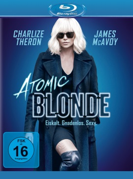 """Das Blu-ray-Cover von """"Atomic Blonde"""" (© Universal Pictures Germany)"""